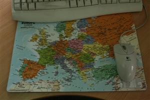 Europe Deskmat Small - Global Mapping