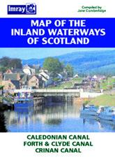 Inland Waterways of Scotland Map - Imray Maps