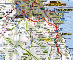 Ireland ITMB International Travel Maps