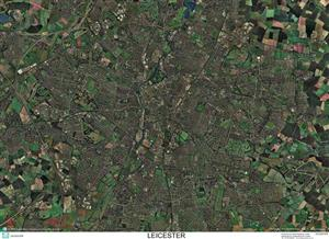 SkyView Leicester Aerial Photo- England