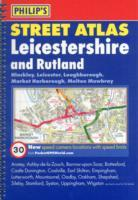 Leicestershire, England, Spiral Street Atlas - Philip's Map