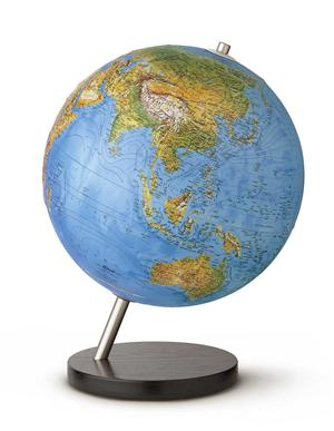 Linea Relief Globe - 30cm - illuminated