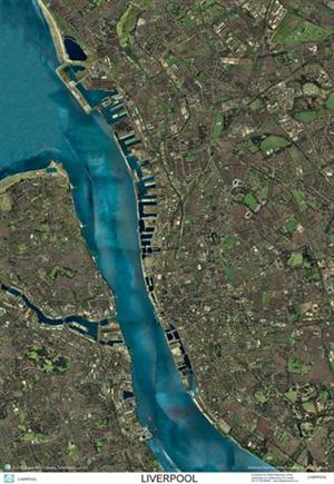 SkyView Liverpool, Merseyside Aerial Photo- England (Includes Anfield and Aintree)