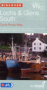Lochs and Glens South, Scotland - Cycle Map - Sustrans