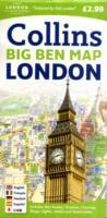 London, England, Big Ben Street Map - New edition - Collins Map