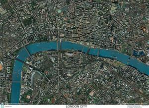 SkyView London City Aerial Photo- England (Includes London Eye and Tower Bridge)