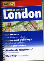 London, England, Spiral Street Atlas - Philip's Map