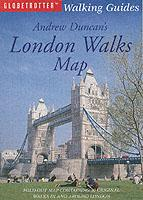 London Walks Map, England - Andrew Duncan
