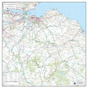 Lothian and Borders, Scotland - County Map