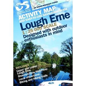 Lough Erne Activity Map - Ordnance Survey Northern ireland