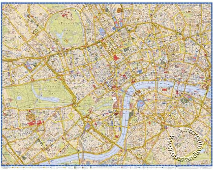 Az Street Map Of London.London England Superscale Street Map A Z Isbn 9781843485025