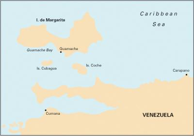 Carupano to Cumana and Isla de Margarita Caribbean ISBN