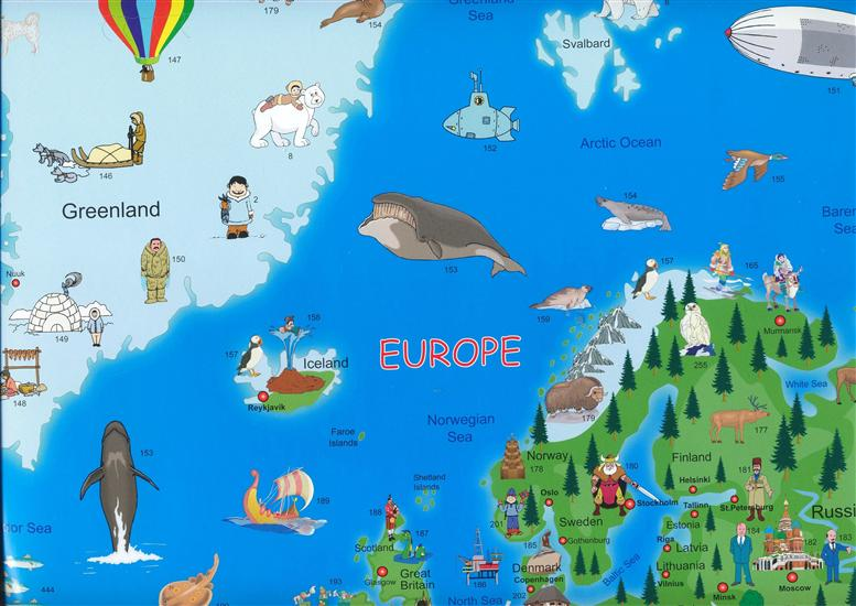 Childrens illustrated world map kruger and schonhoff wall map childrens illustrated world map kruger and schonhoff wall map gumiabroncs Image collections