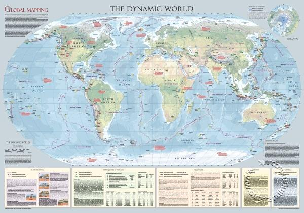 The Dynamic WorldLarge Wall Map Global Mapping AS SEEN ON TV - Large wall map of uk