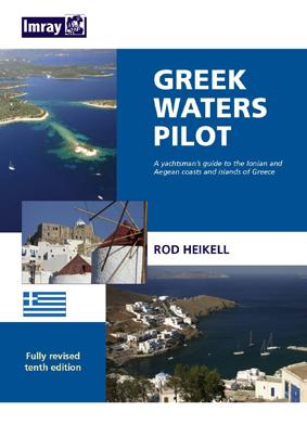 Greek Waters Pilot 10th Edition Imray Maps Isbn