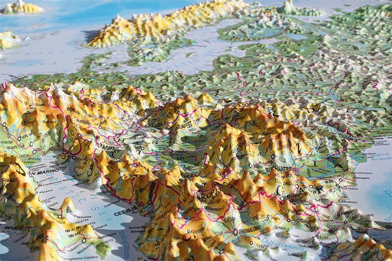 3d Relief Map Of Uk.Europe Raised Relief Map Testplay Map Stop Top Maps At A