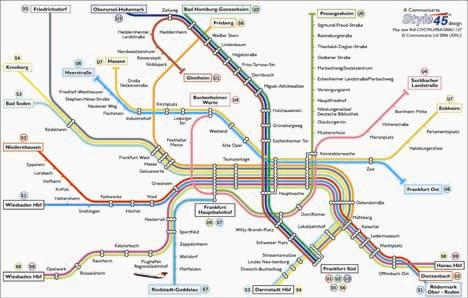 frankfurt transport map germany u bahn and s bahn map map stop top maps at a reasonable. Black Bedroom Furniture Sets. Home Design Ideas
