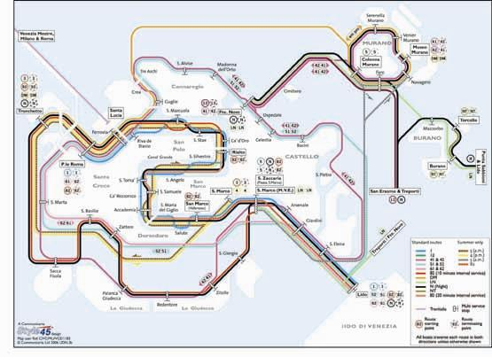 Venice Transport Map Italy Map Stop Top Maps At A Reasonable - Venice transport map