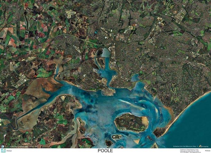 Poole England Map.Skyview Poole Dorset Aerial Photo England Map Stop Top Maps At