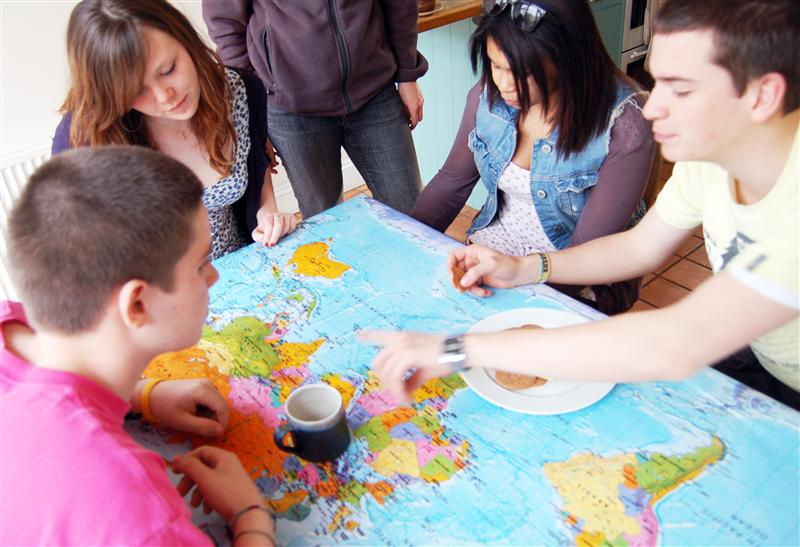 World map tablecloth oilcloth standard tablewise map stop world map tablecloth oilcloth standard tablewise gumiabroncs Gallery