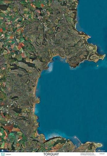 SkyView Torquay Aerial Photo- Devon, England | Map Stop | Top maps on
