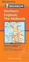Northern England, The Midlands - Michelin Maps