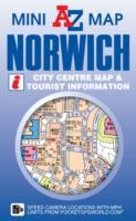Norwich City Centre Mini Map - A-Z Maps