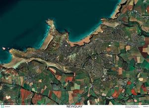 SkyView Newquay, Cornwall Aerial Photo- England( Includes Crantock and Fistral Beach)