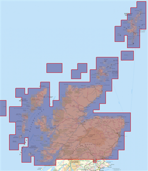 Northern Scotland, Shetland to Perth and Isle of Mull, ViewRanger Off-Road SatNav for you Mobile Pho