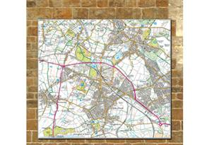 5km x 5km Ordnance Survey map centred on your school - Tiger Moon