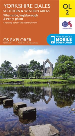 Outdoor Leisure 02 - Yorkshire Dales - Southern & Western areas - Ordnance Survey
