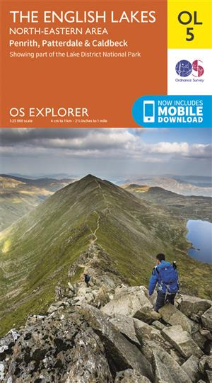 Outdoor Leisure 05 - The English Lakes - North-eastern area - Ordnance Survey