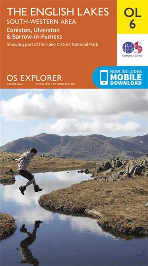 Outdoor Leisure 06 - The English Lakes - South-western area - Ordnance Survey