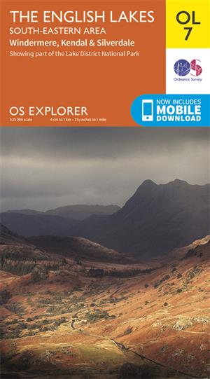Outdoor Leisure 07 - The English Lakes - South eastern Area - Ordnance Survey