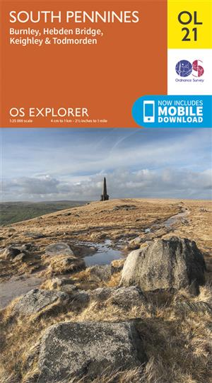 Outdoor Leisure 21 - South Pennines - Ordnance Survey