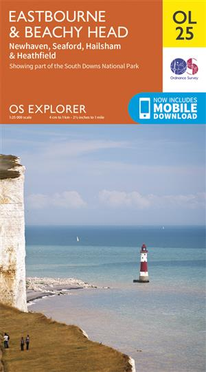 Outdoor Leisure 25 - Eastbourne & Beachy Head - Ordnance Survey