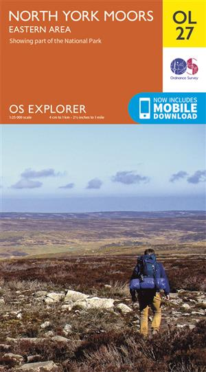 Outdoor Leisure 27 - North York Moors - Ordnance Survey