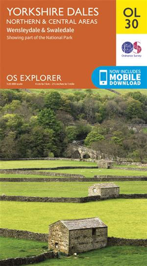 Outdoor Leisure 30 - Yorkshire Dales - Northern & Central Areas - Ordnance Survey