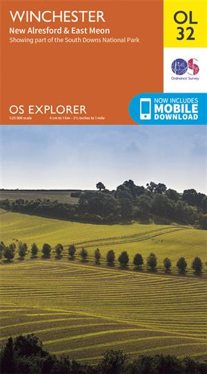 Outdoor Leisure 32 - Winchester, New Alresford & East Meon - Ordnance Survey
