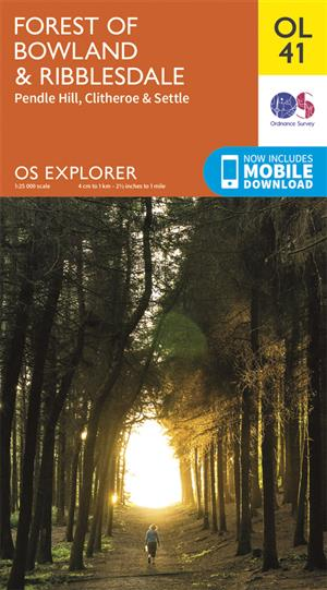 Outdoor Leisure 41 - Forest of Bowland & Ribblesdale - Ordnance Survey