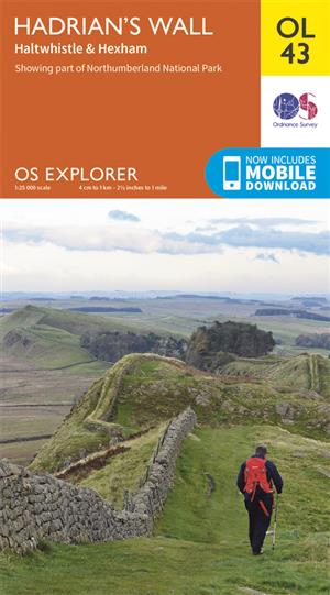 Outdoor Leisure 43 - Hadrian's Wall - Ordnance Survey