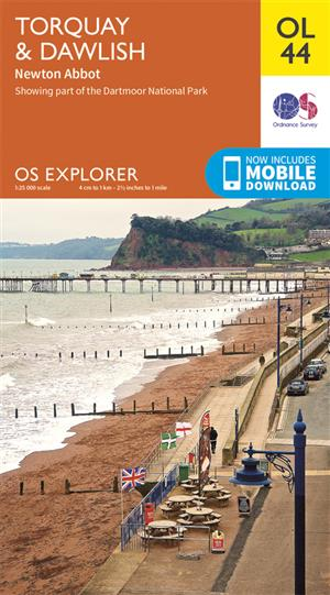 Outdoor Leisure 44 - Torquay & Dawlish - Ordnance Survey