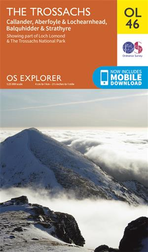 Outdoor Leisure 46 - The Trossachs - Ordnance Survey