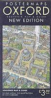 Oxford Aerial Map and Guide, England