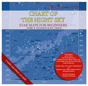 Chart of the Night Sky ..Beginners Guide to Stargazing !!  - Global Mapping
