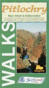 Pitlochry Walks, Scotland - Footprint Maps - Walking Guide