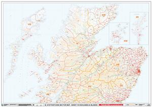 19 Highlands & Islands - Postcode Sectors Map - GIF FILE