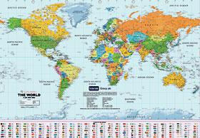 Promotional Wall Maps