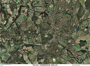 SkyView Royal Tunbridge Wells, Kent Aerial Photo- England
