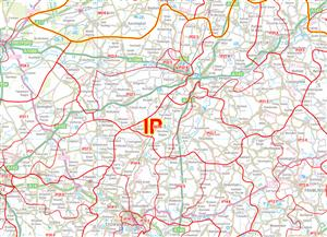 08 The Fens - Postcode Sectors Map - PDF FILE
